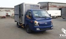 Xe tải Huyndai H150 thùng kín, tải trọng 1T5 trả góp 80% trong 7 năm