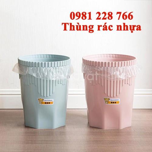 Thùng rác nhựa - Địa chỉ mua hàng uy tín