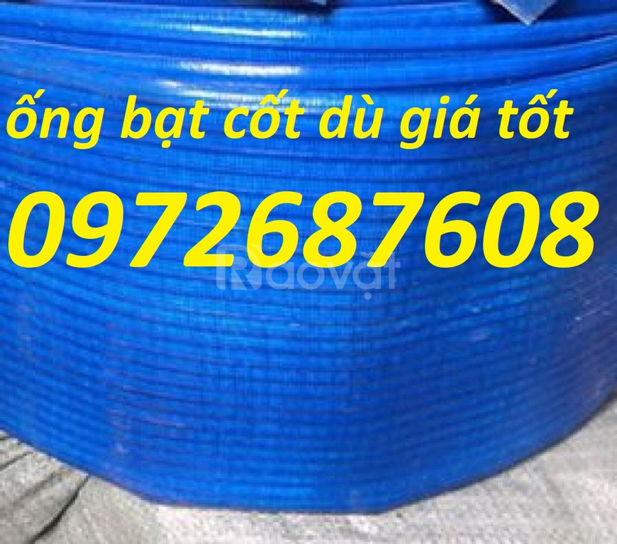 Cung cấp ống dẫn nước vải bạt cốt dù, ống bạt mềm PVC tại Hồ Chí Minh (ảnh 4)