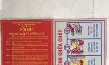 Nội quy + Tiêu Lệnh PCCC, khổ 330 x450mm, chất liệu Tol- Việt Nam