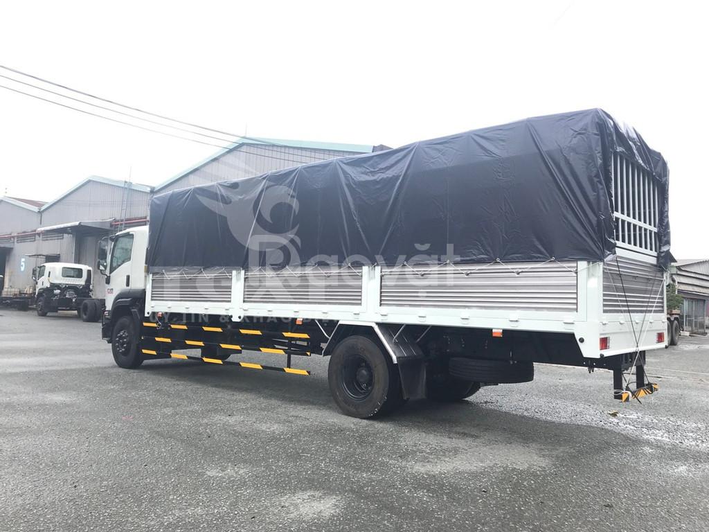 Isuzu FVR34UE4 thùng bạt 8T dài 9m6 (ảnh 7)