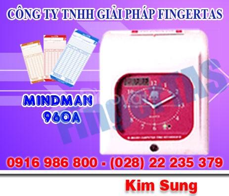Máy chấm công thẻ giấy M960a