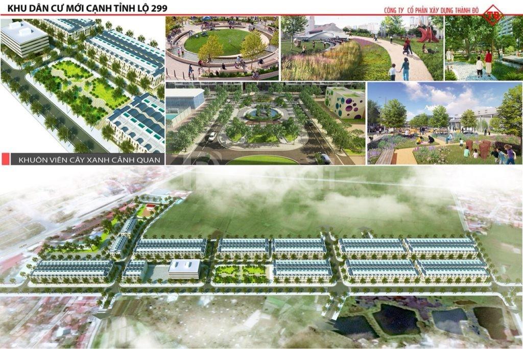 Đất nền sổ đỏ TL 299 Dĩnh Trì Tp Bắc Giang (ảnh 3)