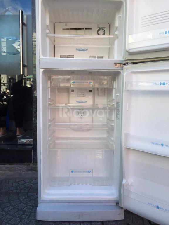 Tủ lạnh Sanyo Aqua 200 lít, tủ không bám tuyết (ảnh 5)