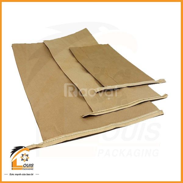 Bao giấy Kraft - Bao Kraft ghép PP dệt (ảnh 5)