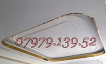 Trần inox trang trí thạch cao, inox 304 ốp trần