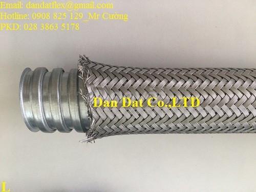 Vật tư thiết bị điện công nghiệp ống thép mềm luồn dây điện
