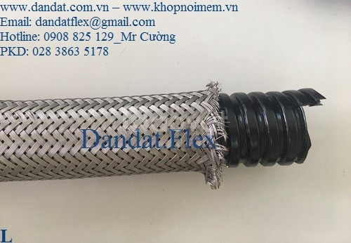 Dây đồng bện tiếp địa thang máng cáp, ống thép mềm luồn dây điện (ảnh 2)