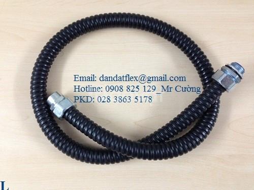 Thiết bị điện công nghiệp, ống thép mềm luồn dây điện + ống ruột gà