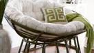 Ghế mây papasan đôi, ghế mây nằm thư giãn (ảnh 3)