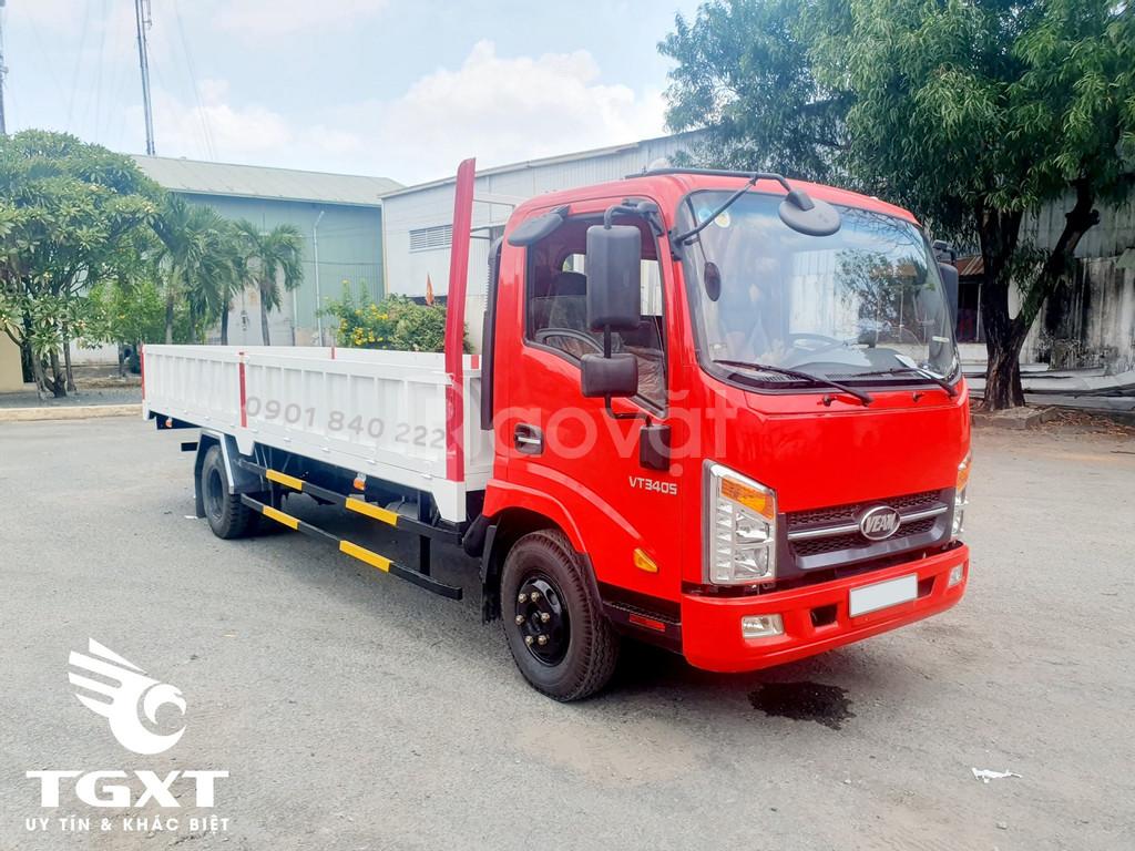 Xe tải Veam VT340S 3T5 thùng dài 6m2, trả góp 70% (ảnh 3)