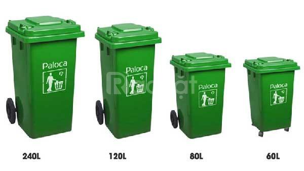 Thùng nhựa đựng rác giá rẻ