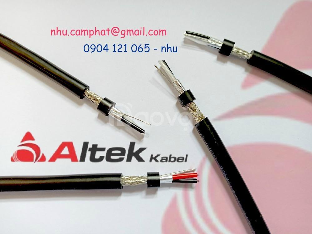 Cáp điều khiển, cáp tín hiệu chuẩn RS485 Altek Kabel