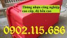 Thùng nhựa A2 màu ghi, hộp nhựa A2 màu ghi (ảnh 5)
