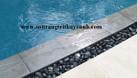 Sỏi đen bóng trang trí hồ bơi (ảnh 1)