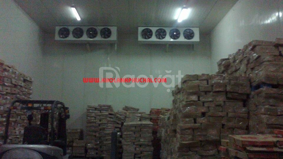 Lắp đặt hệ thống kho lạnh bảo quản thủy sản