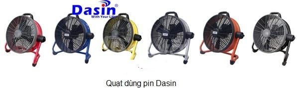 Báo giá quạt sạc tích điện Dasin