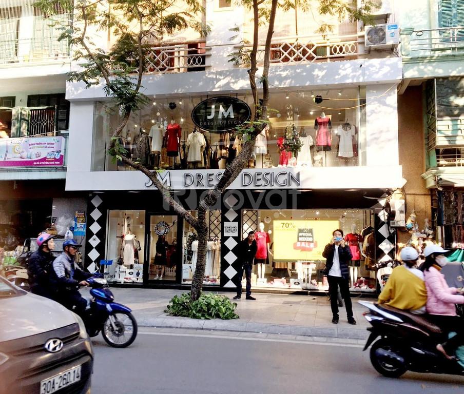 Bán nhà mặt phố Thái Hà, 80m2, MT 5m, lô góc, kinh doanh VIP, giá 20 tỷ (ảnh 1)