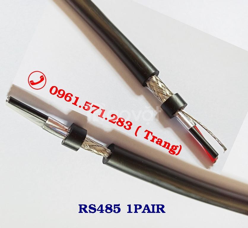 Cáp RS485 2pair18awg, 2pair22awg, 2pair2awg lõi vặn xoắn chống nhiễu