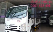 isuzu 1.950kg, thùng bạt 4.5m, đầu vuông, KM 50% thuế, máy lạnh