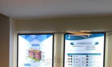 Xưởng chuyên cung cấp biển hộp đèn siêu mỏng, biển đèn led siêu mỏng