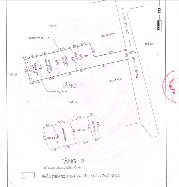 Nhà nở hậu Đường Huỳnh Tấn Phát, quận 7