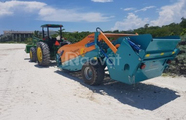 Máy làm sạch bãi biển, máy cào rác bãi biển unicorn (ảnh 6)