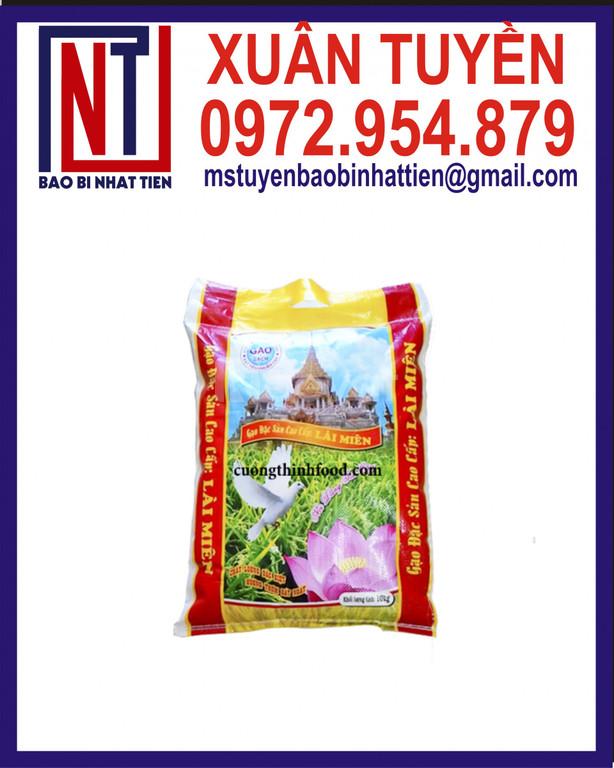 Bao bì gạo 10kg, bao PP dệt ghép màng (ảnh 4)