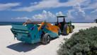Máy làm sạch bãi biển, máy cào rác bãi biển unicorn (ảnh 5)