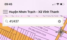 Đất Nhơn Trạch 101m2 full thổ khu đông dân cư Vĩnh Thanh