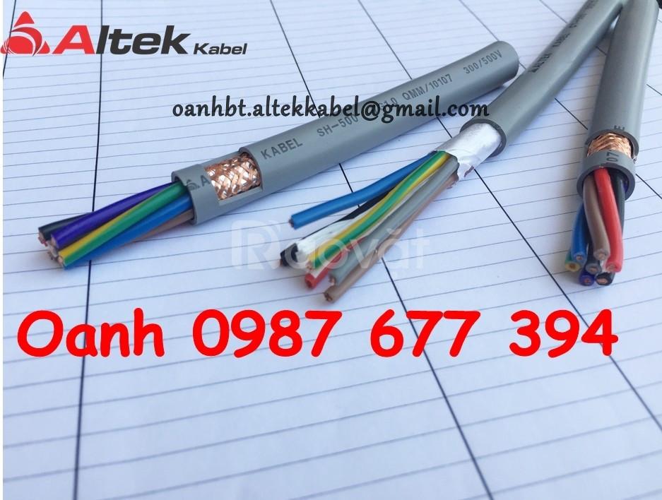 Cáp truyền tín hiệu, cáp điều khiển tín hiệu, cáp tín hiệu Altek Kabel