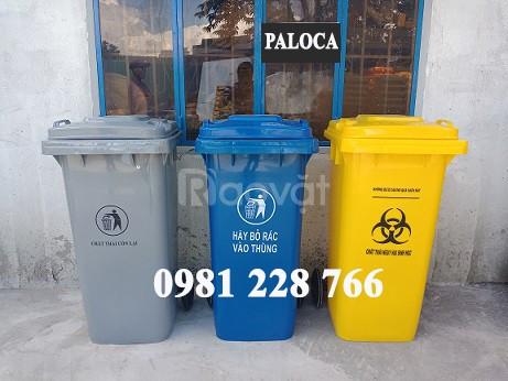 Thùng rác nhựa trợ thủ đắc lực bảo vệ môi trường (ảnh 1)