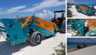Máy làm sạch bãi biển, máy cào rác bãi biển unicorn (ảnh 8)