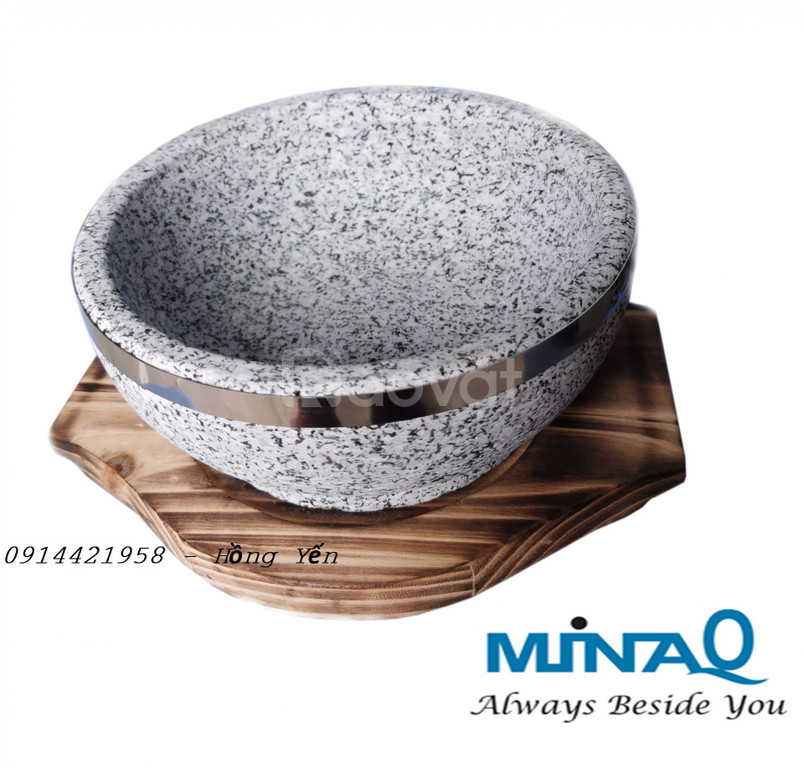 Thố đá giử nhiệt Hàn Quốc cao cấp (ảnh 10)