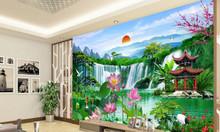 Gạch tranh phòng khách 3d tranh trang trí, tranh tường