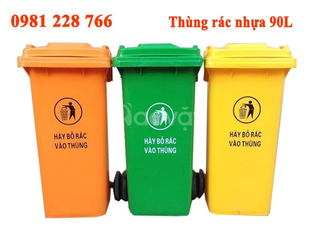 Thùng rác nhựa trợ thủ đắc lực bảo vệ môi trường (ảnh 4)