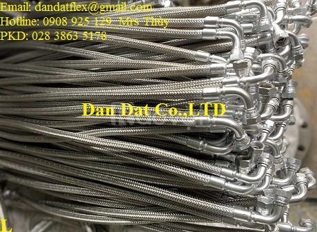 Dây nối mềm inox chịu nhiệt, ống nối mềm inox, ống chống rung inox 304 (ảnh 5)