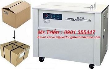 Máy đai niềng thùng pallet SP3 xuất sứ Đài Loan chính hãng Wellpack