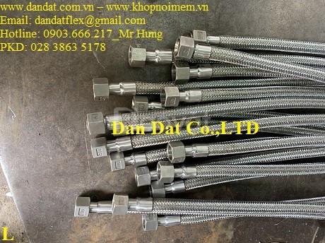 Ống mềm thủy lực, ống nối mềm inox, Ống mềm inox chịu nhiệt cao (ảnh 1)