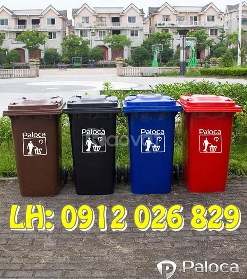 Nơi bán thùng rác nhựa Đà Nẵng giá rẻ, chất lượng, giao tận nơi (ảnh 1)