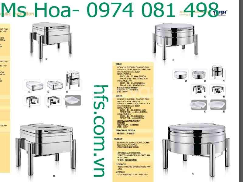 Nồi hâm nóng buffet, dụng cụ buffet nhà hàng (ảnh 4)