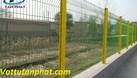 Hàng rào lưới thép mạ kẽm, hàng rào kho, hàng rào sơn tĩnh điện D5 (ảnh 1)