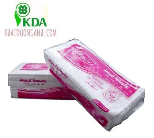 Khăn giấy lau tay cho nhà hàng, khách sạn và bệnh viện Cần Thơ