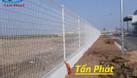 Hàng rào lưới thép mạ kẽm, hàng rào kho, hàng rào sơn tĩnh điện D5 (ảnh 7)