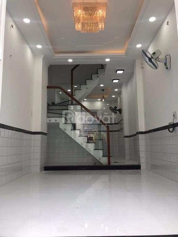 Nhà đẹp mới xây 4 tầng đường Nguyễn Văn Đậu 4.5 m x 12 m