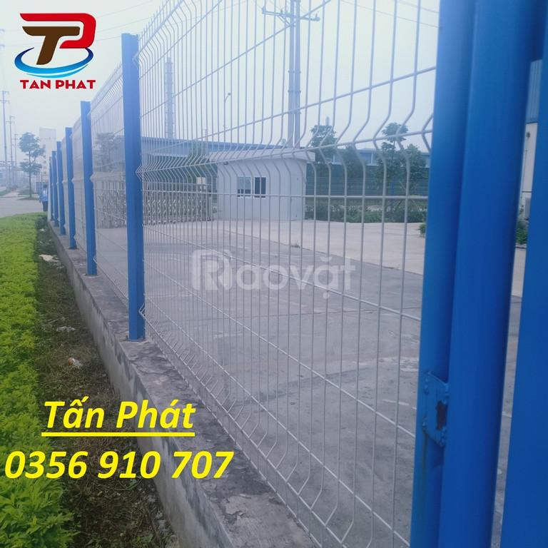 Hàng rào lưới thép mạ kẽm, hàng rào kho, hàng rào sơn tĩnh điện D5
