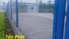 Hàng rào lưới thép mạ kẽm, hàng rào kho, hàng rào sơn tĩnh điện D5 (ảnh 5)