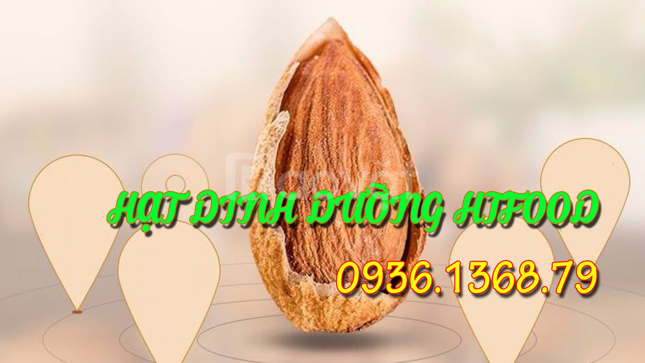 Mua hạt hạnh nhân rang bơ ở Hà Nội