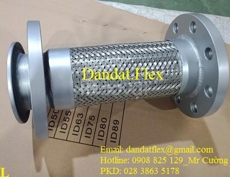 Dây nối mềm inox chịu nhiệt, ống nối mềm inox, ống chống rung inox 304 (ảnh 8)