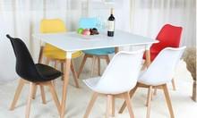Ghế nhựa chân gỗ GLM09